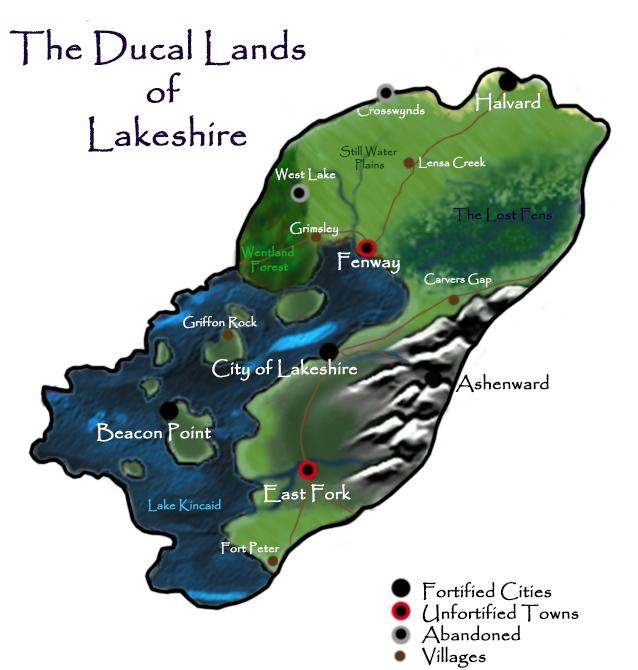 lakeshiremap